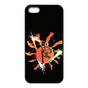 BYEB Creative Shining Fireworks Totem Custom Protective Hard Phone Cae For Iphone 5s