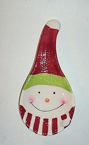 Hand Painted Ceramic Snowman -
