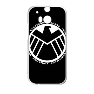 SANYISAN Marvel's Agents of S.H.I.E.L.D. Cell Phone Case for HTC One M8