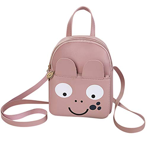 Cute Cartoon Animal Backpack Toddler School Bag Totes Bags Top Handle Handbag Small Bag for Children Baby Girls Boys Women]()