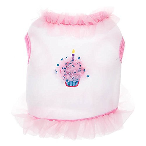 TOP PAW Birthday Cupcake Dog DressMedium