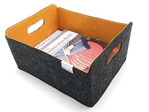 Ezoware Set Of 4 Foldable Fabric Basket Bins Collapsible