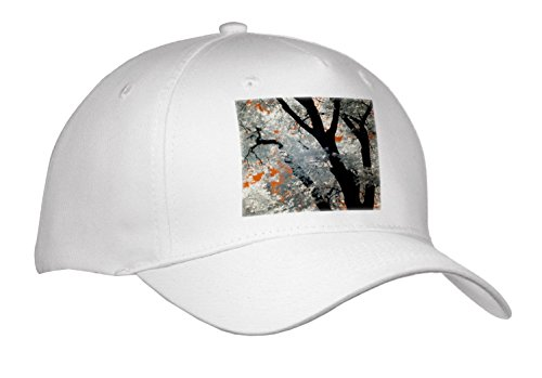 3Drose Danita Delimont   Forests   Usa  California  Yosemite Valley  Infrared Of Black Oak Tree    Caps   Adult Baseball Cap  Cap 278522 1