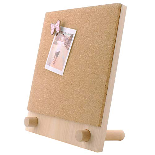 Trycooling Bulletin Board/Cork Board on The Desktop-Small Mini Hanging Tack Message Memo Picture Board for Home Office School