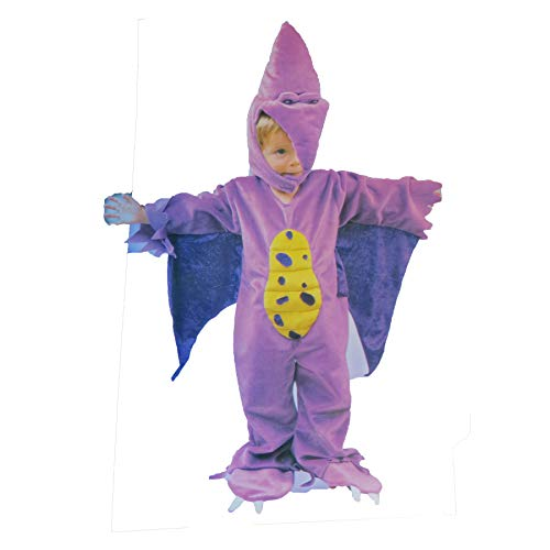 Lil Purple Dino Dinosaur Costume Toddler 2T -