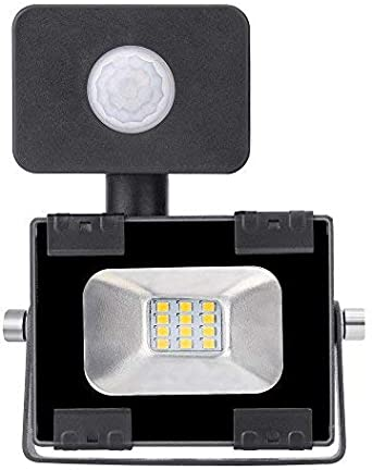 Outdoor PIR Capteur Lanterne Mur Lumière de sécurité 6 verso mouvement sécurité extérieure