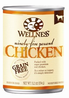 WELLPET, LLC - WELLNESS DOG NINETY-FIVE CHICKEN Case 12/13.2 OZ