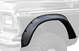 Bushwacker 20013-11 Ford Cut-Out Fender Flare - Front Pair