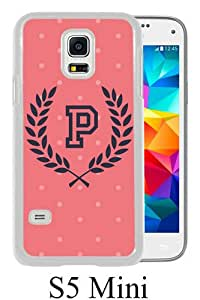 Popular Sale Samsung Galaxy S5 Mini Case,VS Pink 3 White Customized Picture Design Samsung Galaxy S5 Mini Phone Case