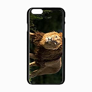 iPhone 6 Black Hardshell Case 4.7inch mane predator Desin Images Protector Back Cover by runtopwell