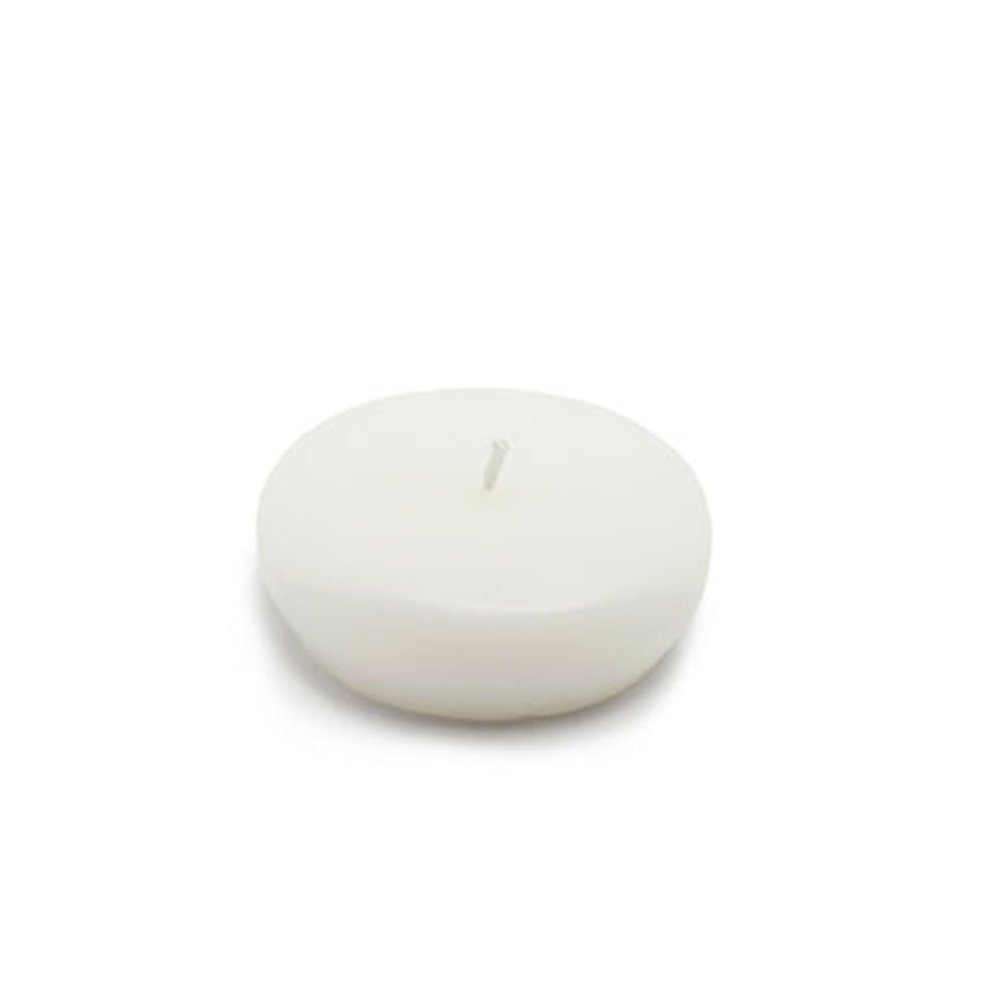 Zest Candle CFZ-023_12 288-Piece Floating Candle, 2.25'', White by Zest Candle (Image #1)
