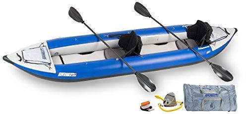 Sea Eagle Inflatable 420X Explorer Kayak Pro Carbon Package