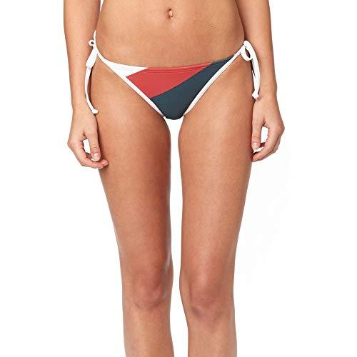 (Fox Junior's Kingsport Side TIE Swim Bottom, Rio Red, L)