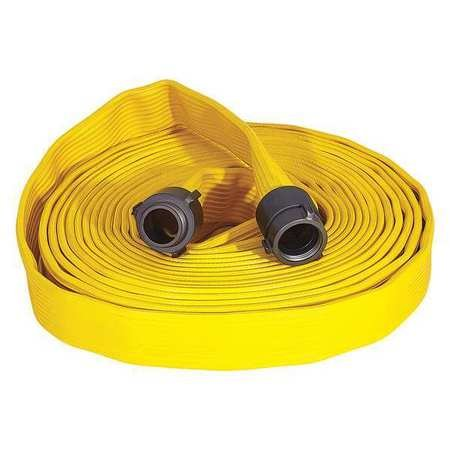 Attack Line Fire Hose, Yellow, 330 psi by Armored Textiles