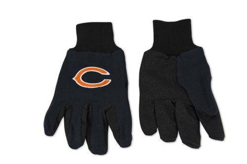 Chicago Bears Two-Tone Adult Gloves ()