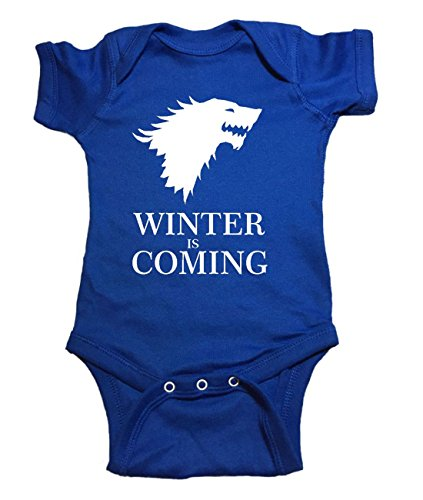 Game Of Thrones Baby One Piece Winter Is Coming Bodysuit 12 Month