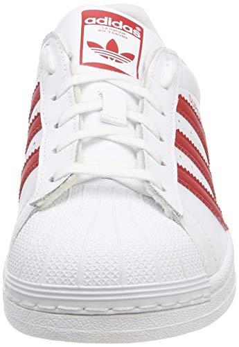 Da Fitness Bianco Scarpe Bambini Unisex Adidas 000 blanco Superstar J qwaAxRtf