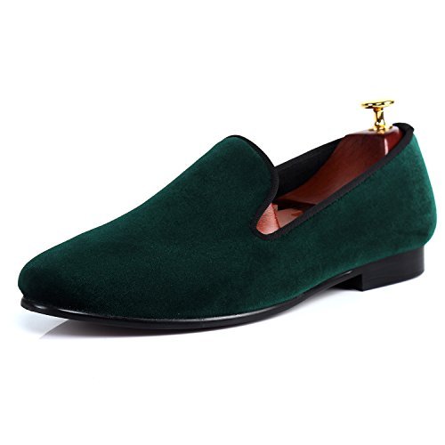 Men Velvet Slippers Plain Handmade Slip-on Loafer Shoes reliable cheap price discount amazon for sale footlocker GDqfc