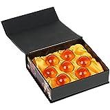 DmsBang 7pcs Crystal Glass Dragonball Z Star with Gift Box Set