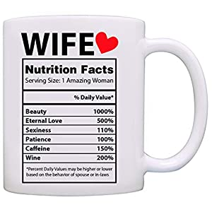 Valentines Day Gifts for Her – Best Wife Gifts Ever – Valentines Day Mug – Gifts for Wife From Husband – Anniversary Gifts for Her