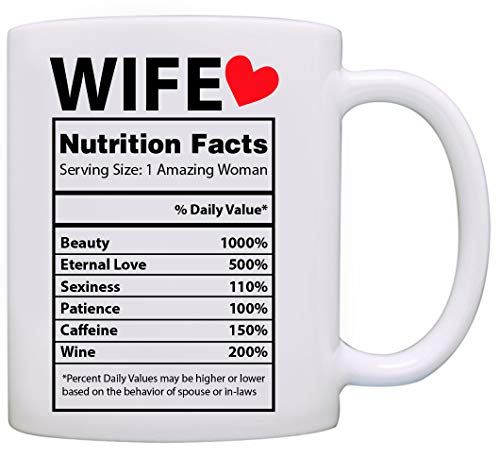 Valentines Day Gifts for Her - Best Wife Gifts Ever - Valentines Day Mug - Gifts for Wife From Husband - Anniversary Gifts for Her (Best Anniversary Gift Ever)