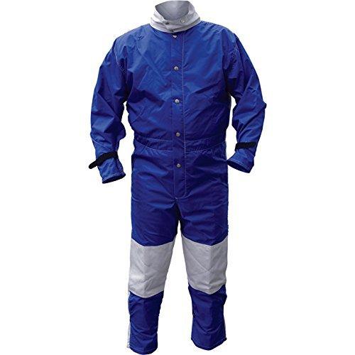 Abrasive Blast Suit, Blue, X-Large
