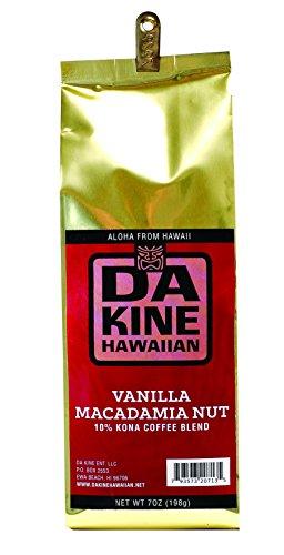 Da Kine Hawaiian 100% Kona Coffee (Vanilla Mac Nut)