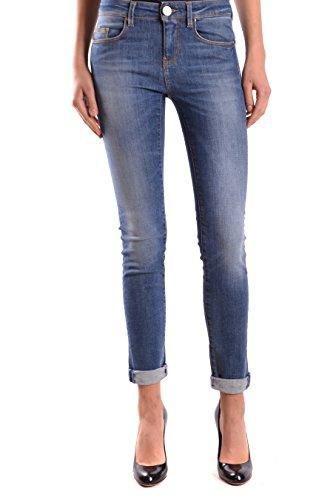 Pinko Femme FUJICO25G09 Bleu Coton Jeans