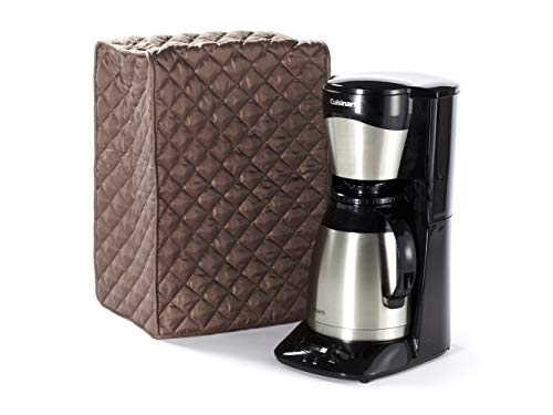 Covermates – Coffee Maker Cover – 12W x 8D x 17H – Diamond Collection – 2 YR Warranty – Year Around Protection – Bronze