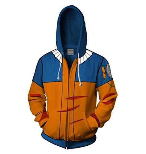 HICOSER Naruto Akatsuki Cloud Uchiha Itachi Hoodies Sweatshirt Pullover Bomber Jacket Costume