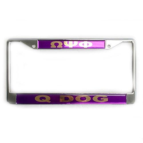 Omega Psi Phi License Plate - 3