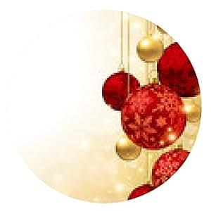 alfombrilla de ratón adorno de Navidad - ronda - 20cm