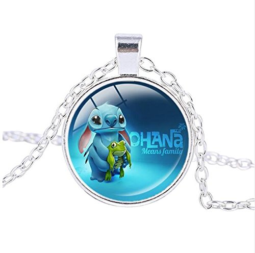Gothic jewelry Stitch Pendant baby Necklace Pendants baby Jewelry Zodiac necklaces Women Unique Charming (1)