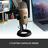 Blue Yeti Nano Premium USB Mic for Recording and