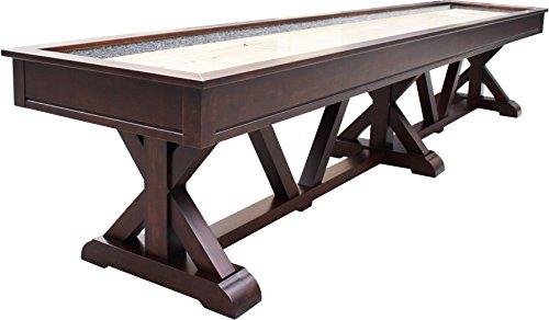 Playcraft Brazos River 12' Pro-Style Shuffleboard Table, ...