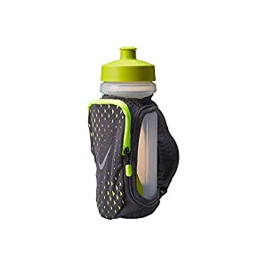 Nike 22oz Handheld Water Bottle (Gray/Volt)