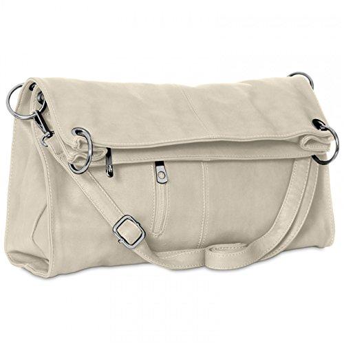 Bag Caspar Colors Handbag Womens Various Gray In Ts561 Shoulder IITFx6wvq