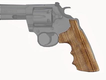 Amazon.com : Hogue Colt King Cobra/Anaconda Goncalo Premium Wood ...