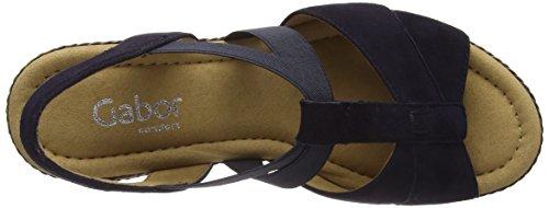 with credit card online Gabor Women's Comfort Sport Ankle Strap Sandals Blue (Pazifikkork/Flech) buy cheap shop offer top quality online iGCWhcDMJ