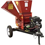Merry Mac Commercial Chipper/Shredder - 570cc Briggs & Stratton Vanguard Engine, 4in. Capacity, Model# SC262-18VEMC