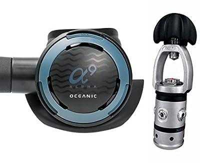 Oceanic Alpha 9/SP-6 Scuba Regulator with MaxFlex and DVT - Yoke