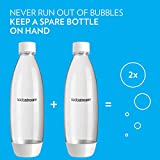 SodaStream White 1L Slim Carbonating Bottles Twin