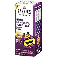 Zarbee's 4-Ounce Naturals Children's Black Elderberry Syrup