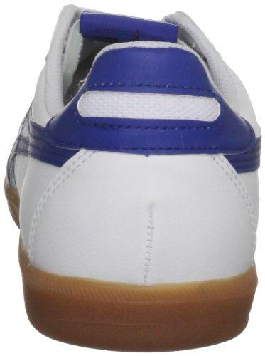 Asics - Zapatillas para deportes de interior de cuero para hombre blanco blanco [top] blanco - White/Blue