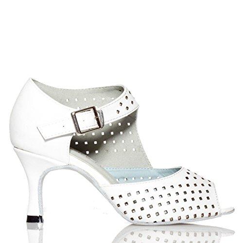 White 5cm bal femme Salle 7 de Miyoopark heel P8xYwx