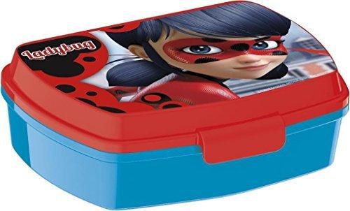 Contenitore Porta pranzo Miraculous Ladybug Marinette Lunch box bambini colazione plastica Stor