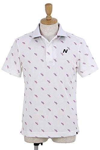 ニューバランス ゴルフ new balance golf メンズ ポロシャツ 012-8160010 (ホワイト(030), L(5))