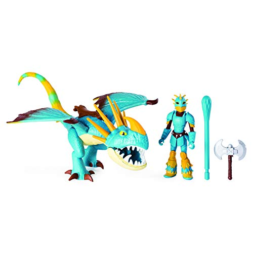 Dreamworks Dragons, Stormfly & Astrid, Dragon with Armored Viking Figure, for Kids Aged 4 & Up (Best Toy Trains For 3 Year Olds)