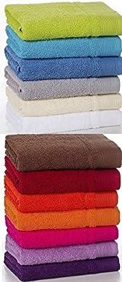 Toallas para el baño 100% algodon 500grs (tamaños y colores a elegir) babychispitas (Lila claro, Tocador 30x50)