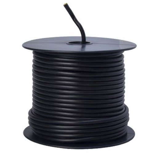 Southwire 55671323 Primary Wire, 12-Gauge Bulk Spool, 100-Feet, Black